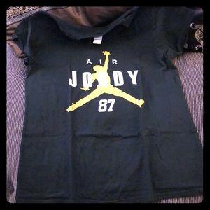 Women's XL Jordy Nelson tee size XL nwot